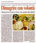 Articolo Corriere del Mezzogiorno