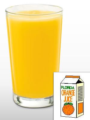 Succo d'arancia