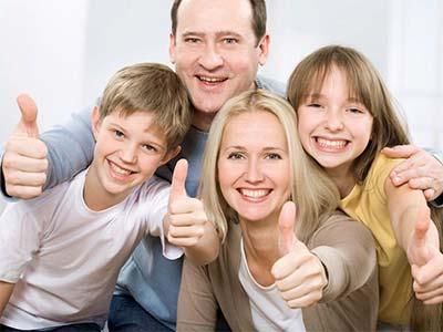 Famiglia positiva