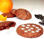 Biscotti tipo pan di stelle a base di farina di farro