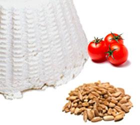 Farro pomodorini ricotta